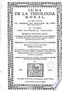 Suma de la teologia moral