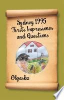 Sydney 1995 Firsts Impresiones and Questions