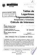 Tablas de logaritmos trigonométricas sexagesimales y centesimales, Cálculo de intereses