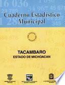 Tacámbaro estado de Michoacán. Cuaderno estadístico municipal 1996