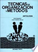 Técnicas de Organización Y Métodos i Parte