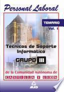 Tecnicos de Soporte Informatico de la Comunidad de Castilla Y Leon. Temario Volumen i Ebook