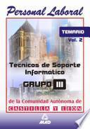 Tecnicos de Soporte Informatico de la Comunidad de Castilla Y Leon. Temario Volumen Ii Ebook