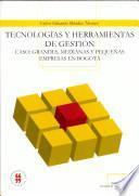 Tecnologias y herramientas de gestion