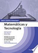 Temario pruebas de acceso a ciclos formativos de grado medio. Ámbito científico-tecnológico. Matemáticas y Tecnología