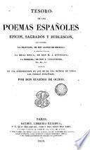 Tesoro de los poemas españoles épicos sagrados y burlescos