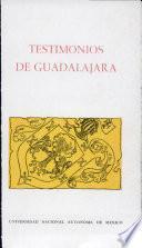 Testimonios de Guadalajara