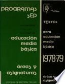 Textos para educación media básica