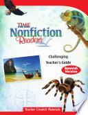TIME For Kids Nonfiction Readers: Challenging Teacher's Guide (Spanish Version)