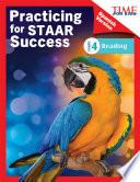 TIME FOR KIDS® Practicing for STAAR Success: Reading: Grade 4 (Spanish Version)