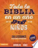 Toda la Biblia en un año para Niños
