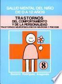 TRASTORNOS DEL COMPORTAMIENTO Y DE LA PERSONALIDAD SALUD MENTAL DEL NIÑO DE 0 A 12 AÑOS. Módulo 8