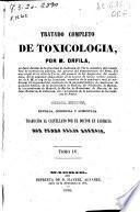 Tratado completo de tocsicologia: (Imp. de Manuel Alvarez)