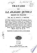 Tratado de la análisis química