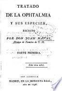 Tratado de la ophtalmia y sus especies