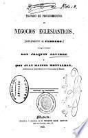 Tratado de procedimientos en negocios eclesiásticos