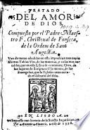 Tratado del Amor de Dios ... Van de nueuo añadidas ... tres copiosissimas tablas [by Domingo de los Reyes], etc