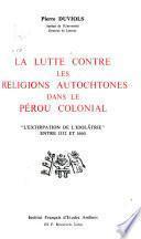 Travaux de l'Institut français d'études andines