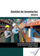 UF0476 - Gestión de inventarios