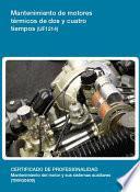 UF1214 - Mantenimiento de motores térmicos de dos y cuatro tiempos