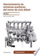 UF1217 - Mantenimiento de sistemas auxiliares del motor de ciclo diésel