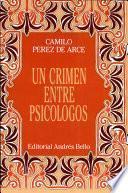 Un crimen entre psicólogos