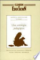 Una antología pedagógica