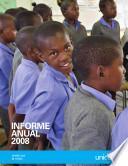 UNICEF Informe Anual 2008