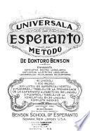 Universala esperanto metodo de doktoro Benson