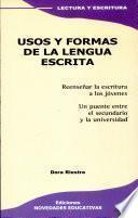 Usos y formas de la lengua escrita