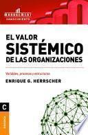 Valor sistémico de las organizaciones, El