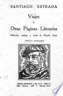 Viajes y otras páginas literarias