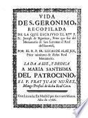 Vida de S. Geronimo