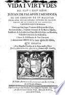 Vida del ... Don Juan de Palafox y Mendoza