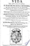 Vida del ... Señor D. Ivan de Palafox i Mendoza ...