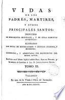 Vidas de los Padres Martires y otros principales santos, 3
