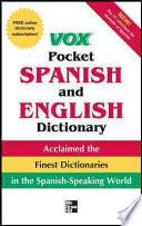 Vox Pocket Spanish-English Dictionary