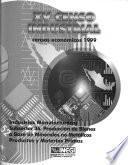XV Censo industrial: Subsector 36, Producción de bienes a base de minerales no metálicos