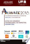 XXX Congreso Internacional de Marketing AEMARK 2018 Barcelona