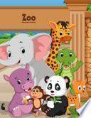 Zoo libro para colorear 1